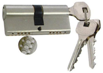 60mm Brass Cylinder Security Door Locks With Tri - Line Sealing Pins